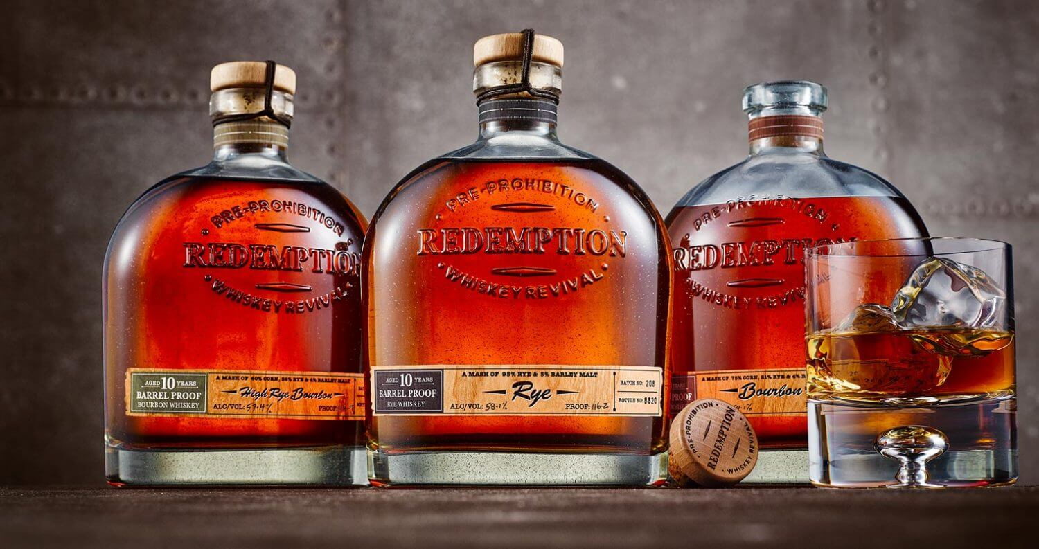 Redemption Whiskey Releases Limited-Edition Aged Barrel Proof Selections, featured image