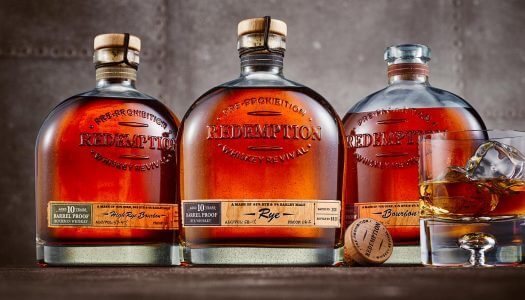 Redemption Whiskey Releases Limited-Edition Aged Barrel Proof Selections