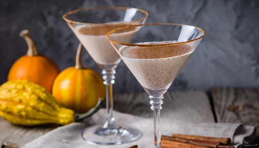 Jack Daniel's Tennessee Honey, RumChata and Baileys Halloween Cocktail