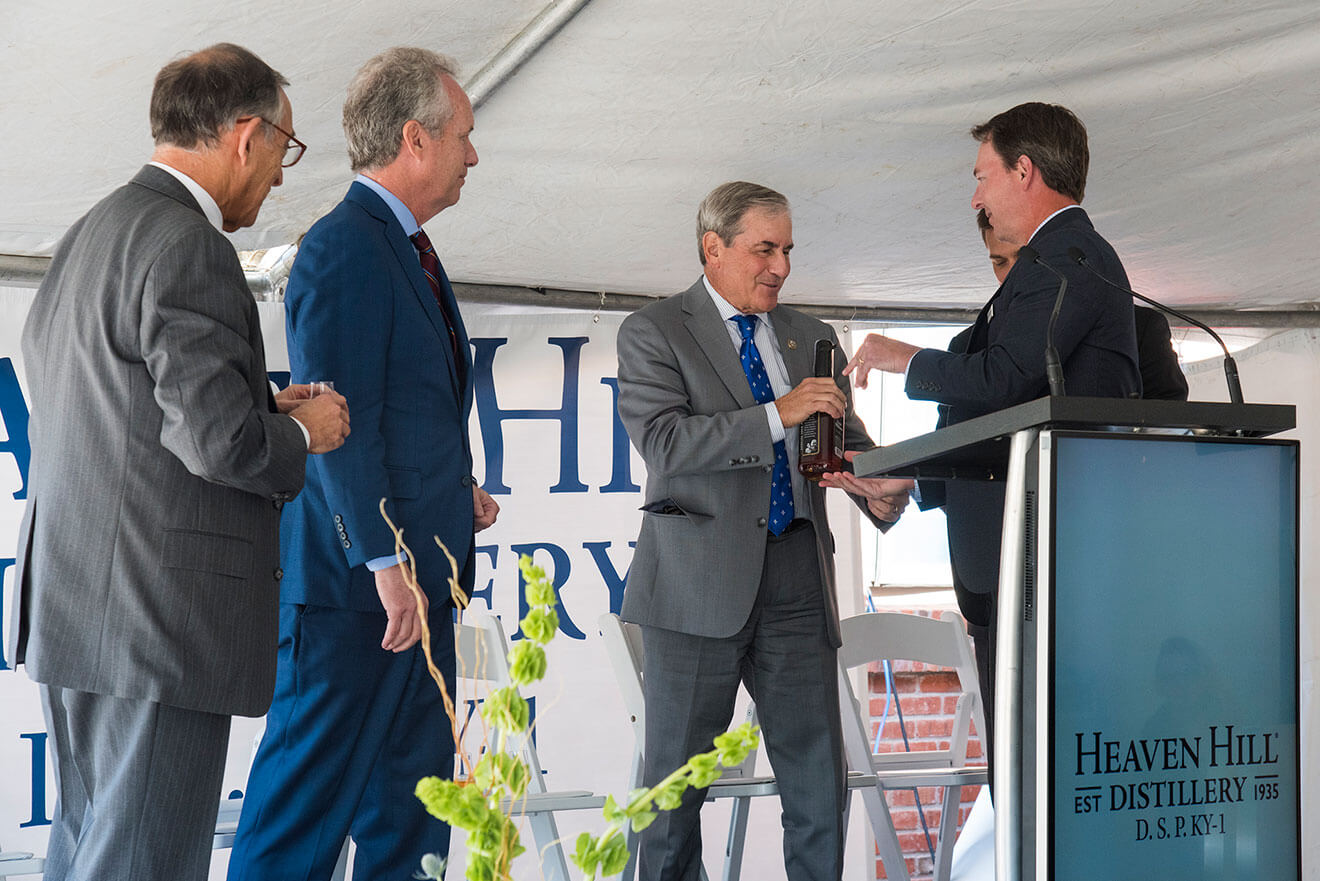 Heaven Hill Distillery Dedicates Largest Single-Site Bourbon Distillery in American Whiskey, presentation