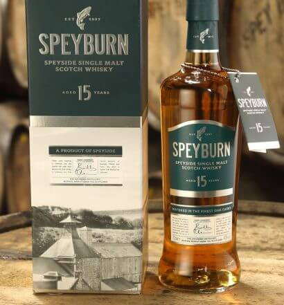 Speyburn Single Malt Scotch Whisky Releases 15 Years Old, featured image