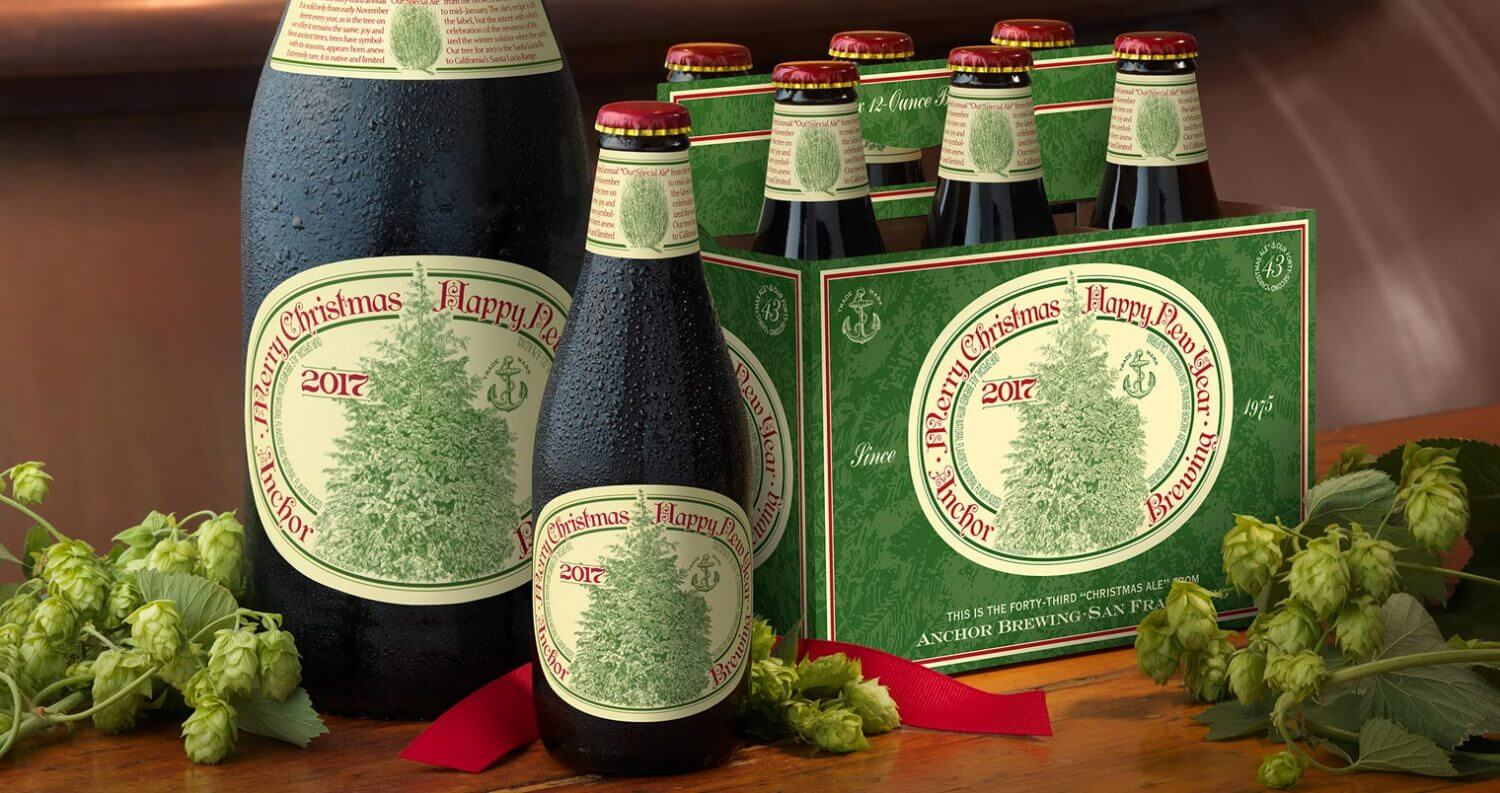 Christmas Ale.Anchor Brewing Releases 43rd Annual Christmas Ale Chilled