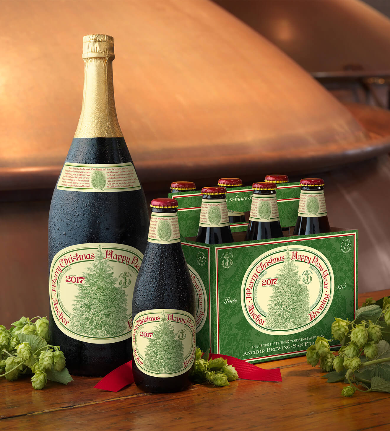 Anchor Brewing 43rd Annual Christmas Ale
