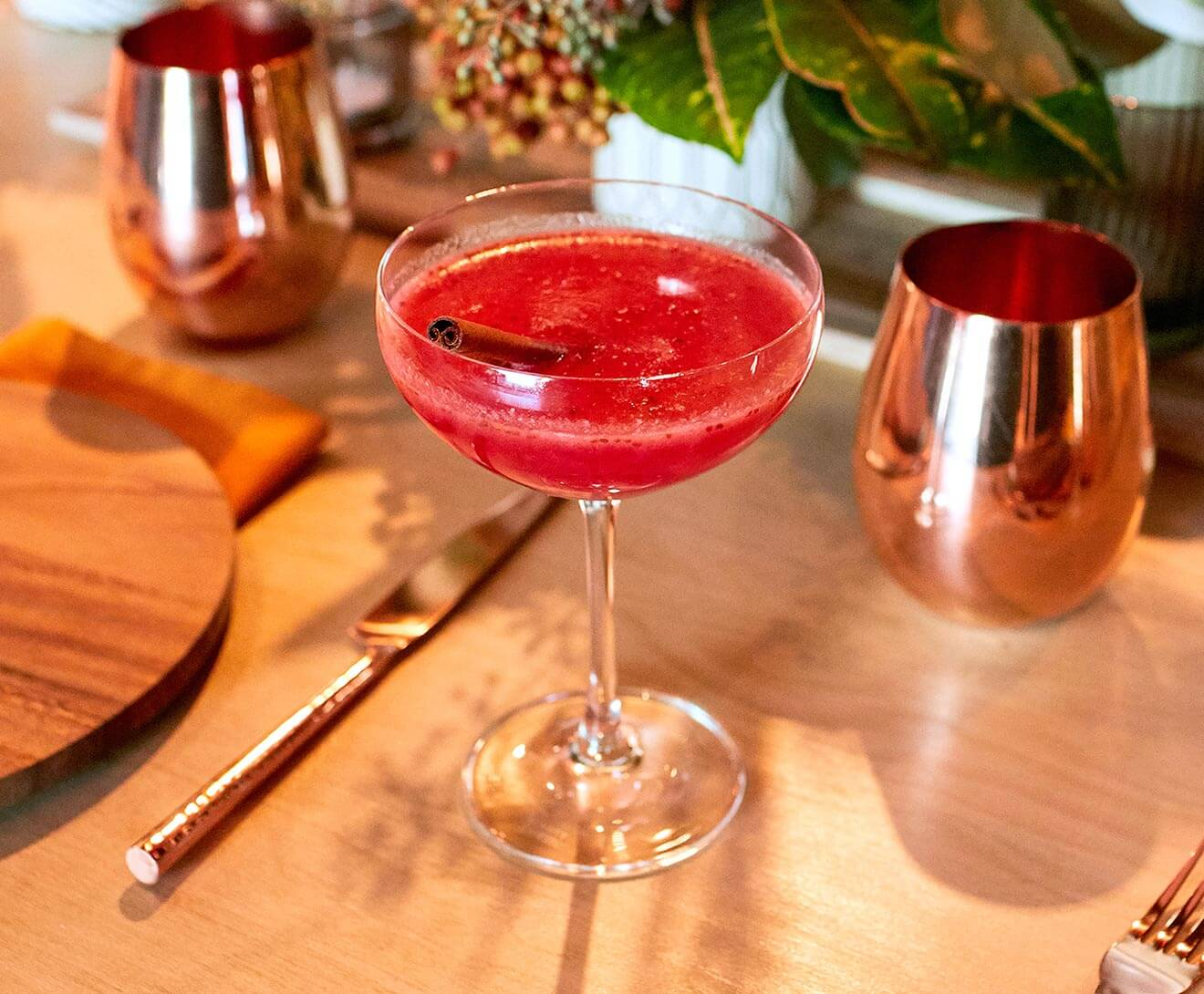 Cointreau Cranberry cocktail