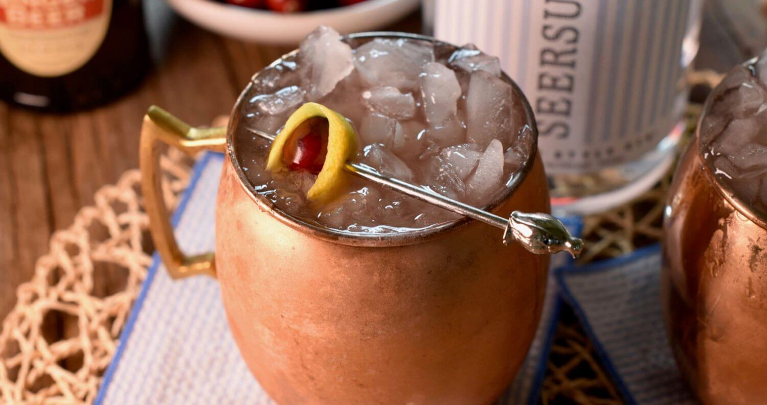 Cranberry Gin Buck, featured image