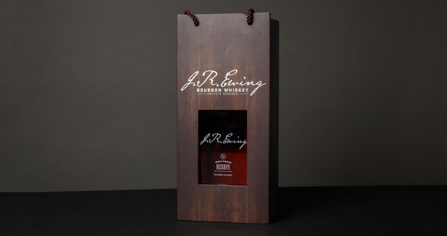 J.R. Ewing Bourbon Limited Edition Holiday Packaging, featured image