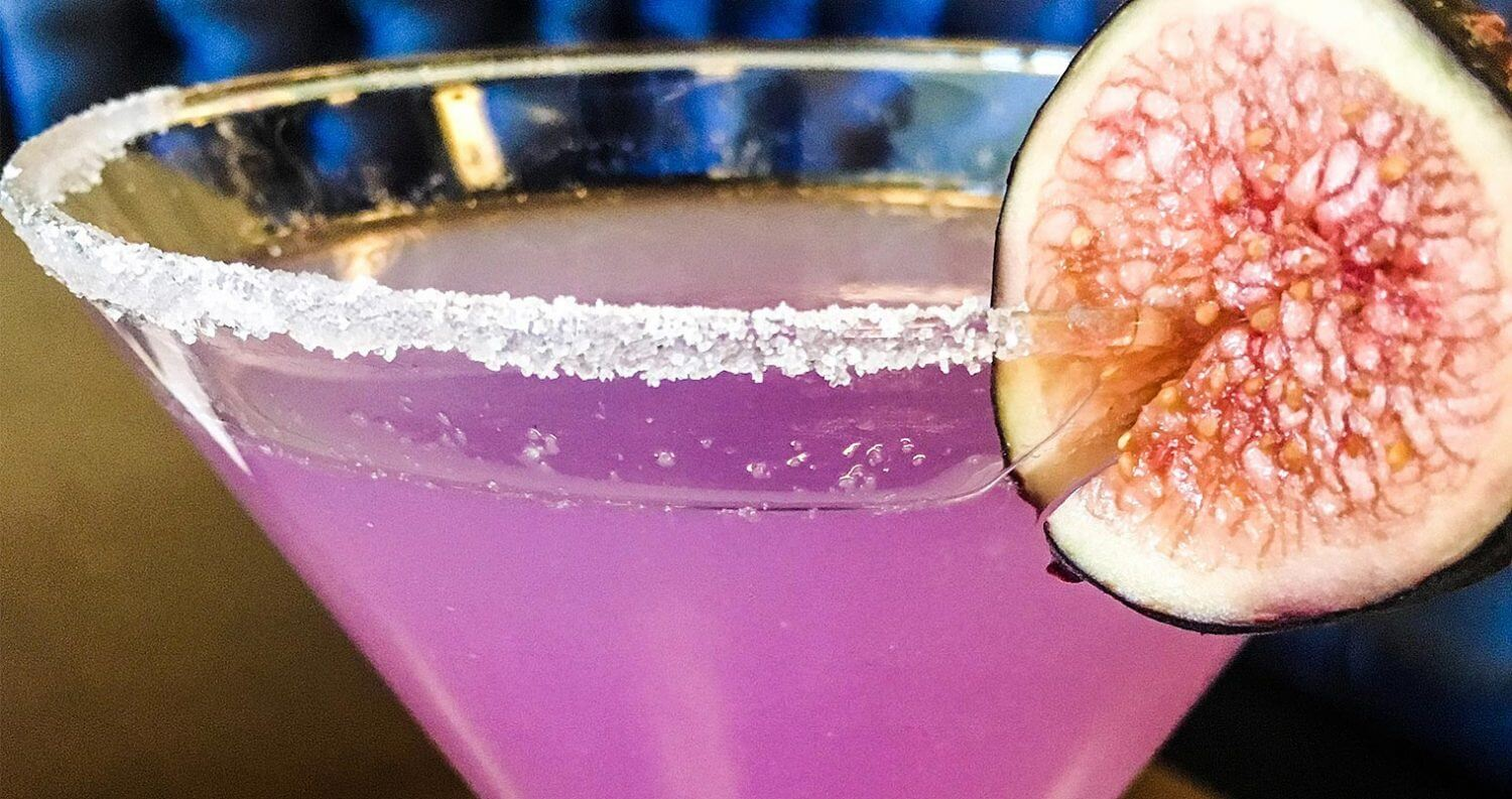 The Violet Cocktail, featured image