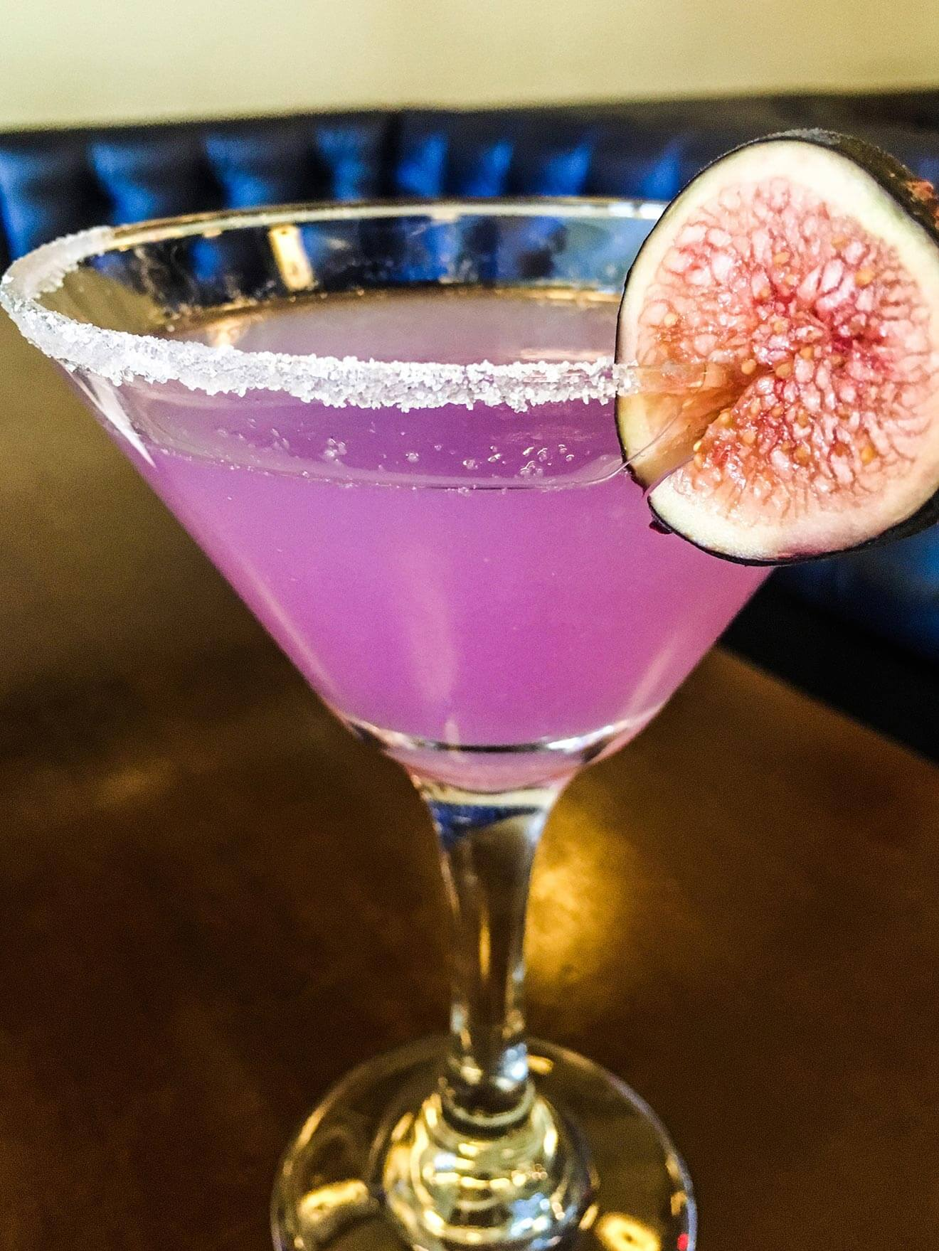 The Violet Cocktail