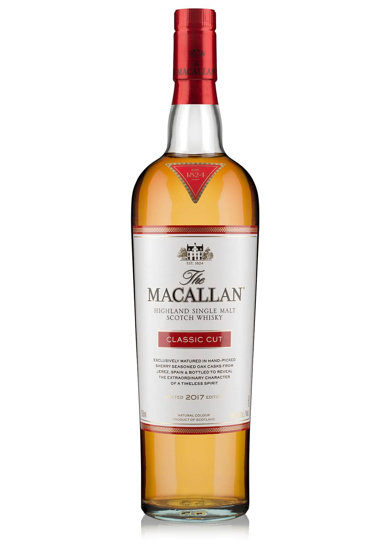 The Macallan Classic Cut, bottle on white