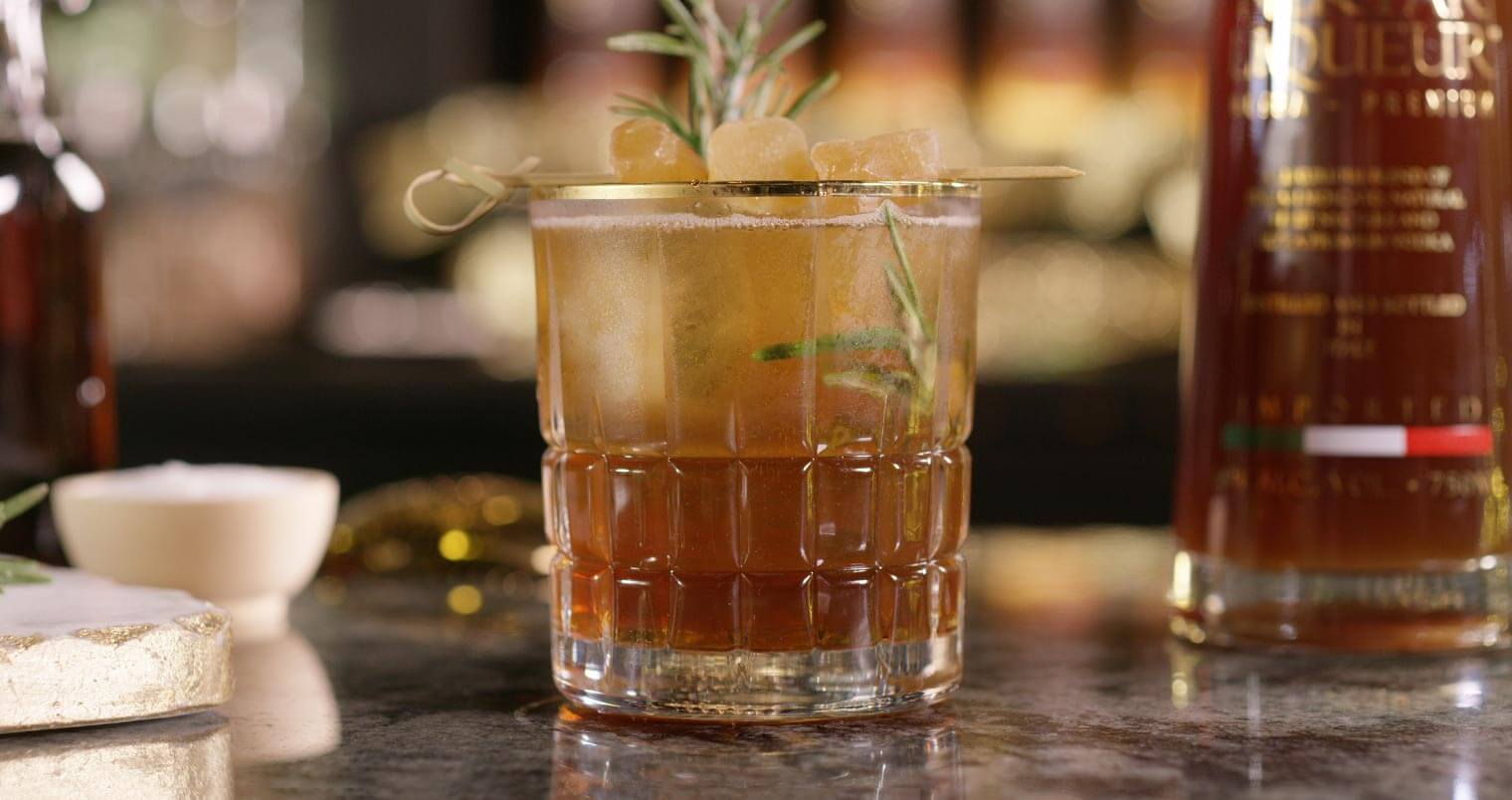 Holiday Solstice Cocktail, featured image