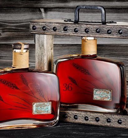 Redemption Whiskey Ancients Collection, 18 and 36 year aged, bottles and packaging, featured image