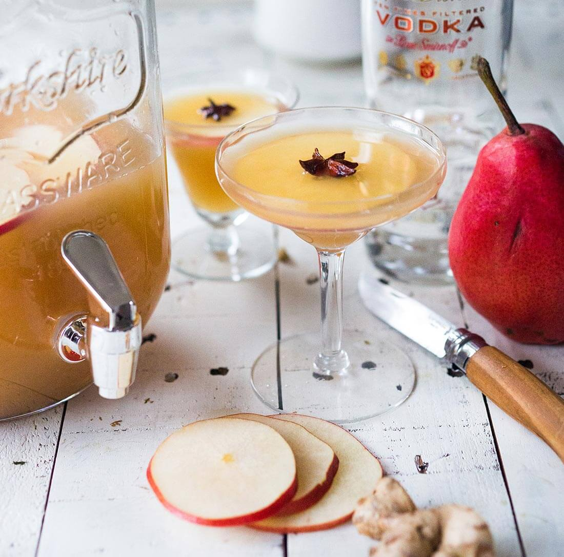 Cardamom Pear Punch
