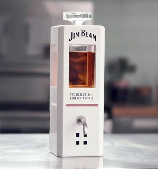 """""""JIM,"""" The World's First Intelligent Bourbon Decanter, feature image"""