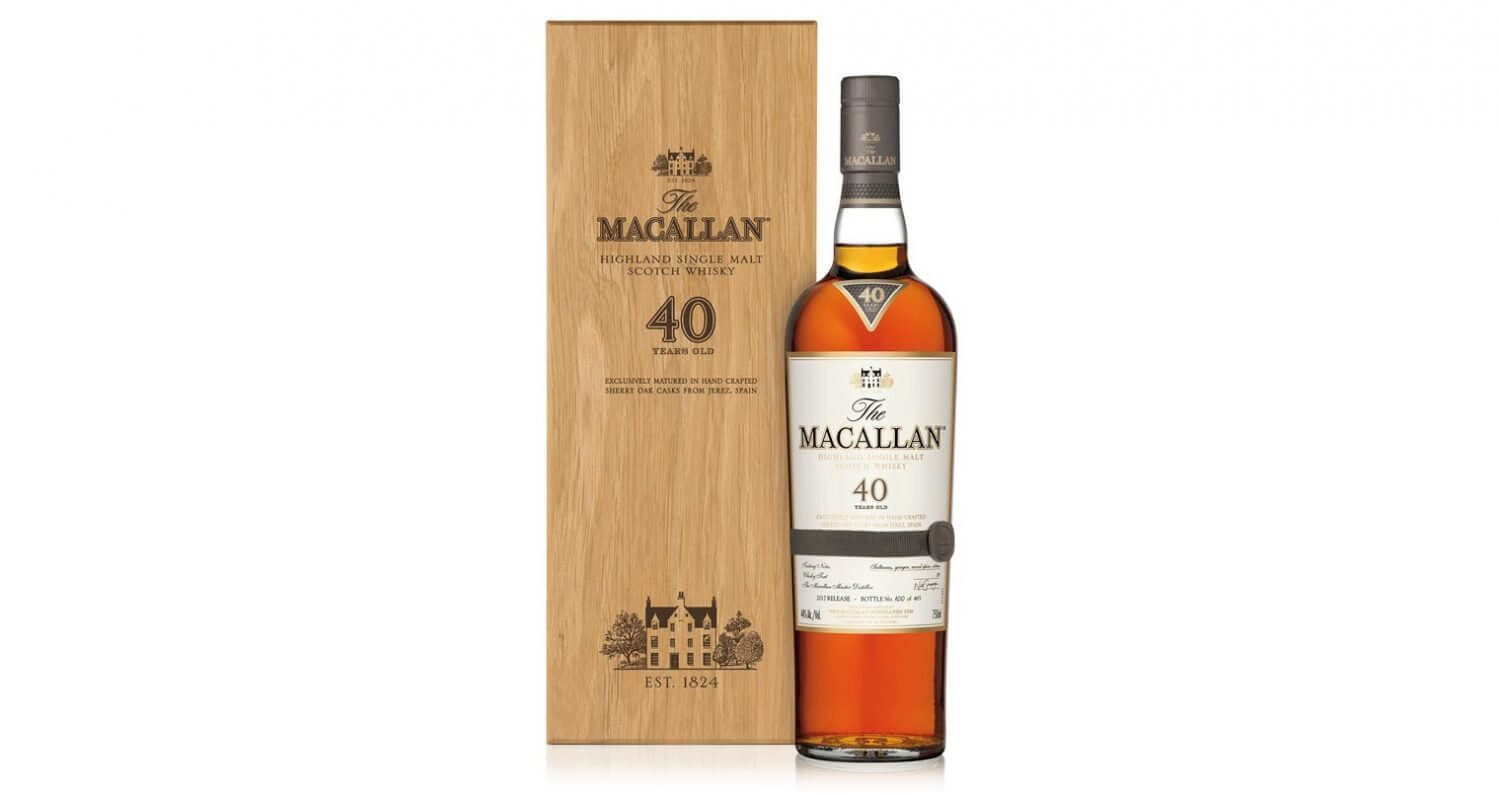 The Macallan Sherry Oak 40 Years Old Rare Single Malt, featured image