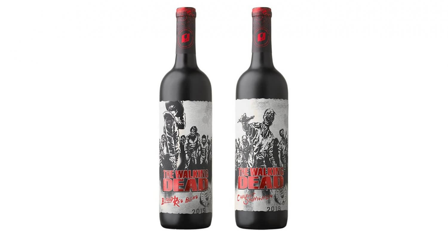 Walking Dead Wine Labels, featured image