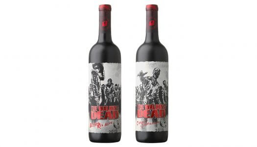 Watch the Dead Rise on These Walking Dead Wine Labels