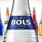 Bols Liqueurs Premium Packaging Refresh, bottles on white, featured image