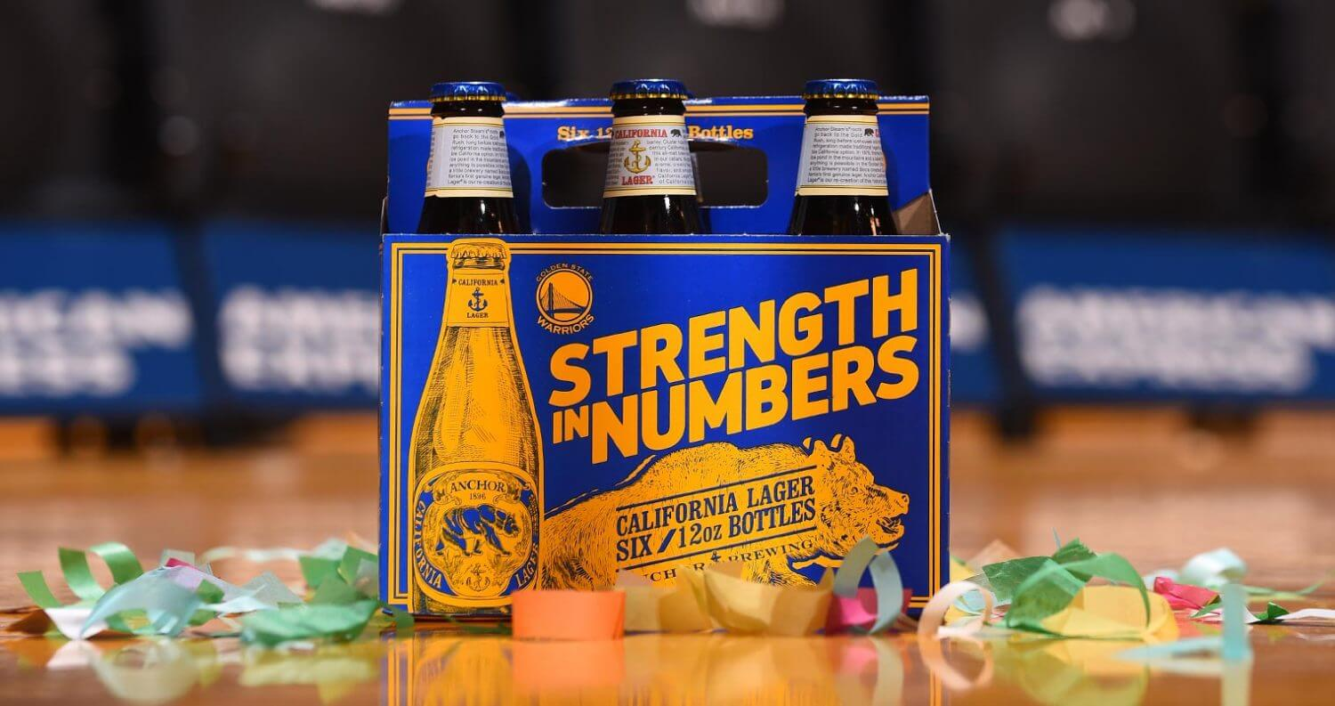 Golden State Warriors Packaging on wooden table, featured image