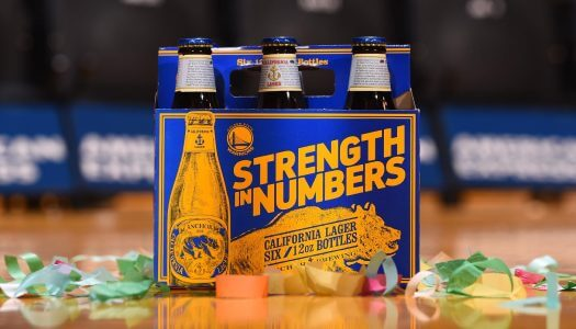 Anchor Brewing Releases Limited-Edition Golden State Warriors Packaging