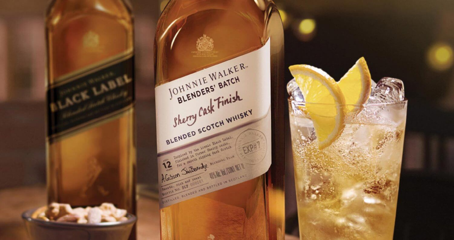 Johnnie Walker Blenders' Batch Sherry Cask Finish, featured image