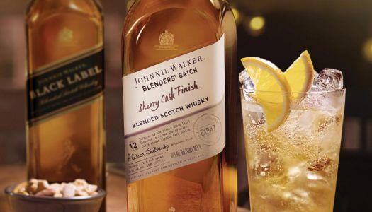 Johnnie Walker Launches Blenders' Batch Sherry Cask Finish