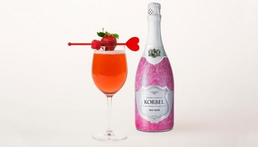 Easy to Mix: Korbel Ruby Rose