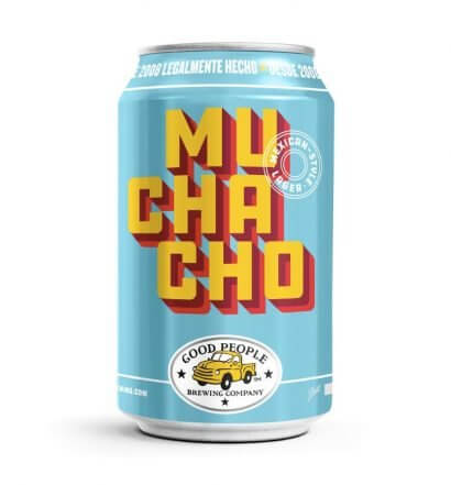 Muchacho Mexican Style Lager, can on white, featured image