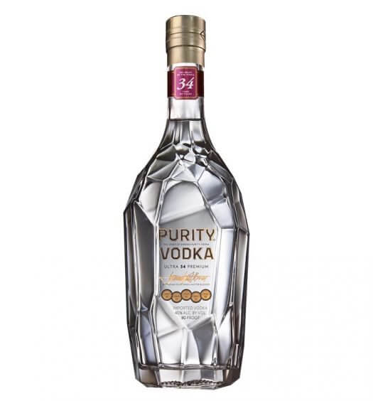 Purity Vodka, bottle on white, featured image