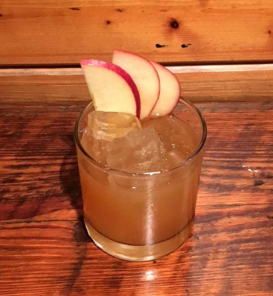 Smokin' Manzanas, cocktail