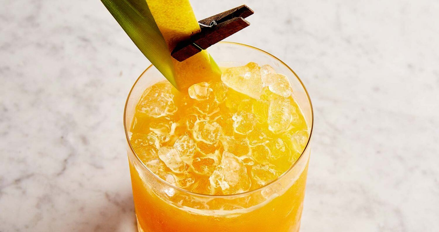 Virgil Kaine's Turmeric Whiskey Sour, featured image