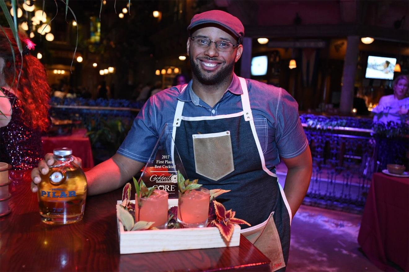 Aaron Joseph, chilled 100 mixologist, washington dc