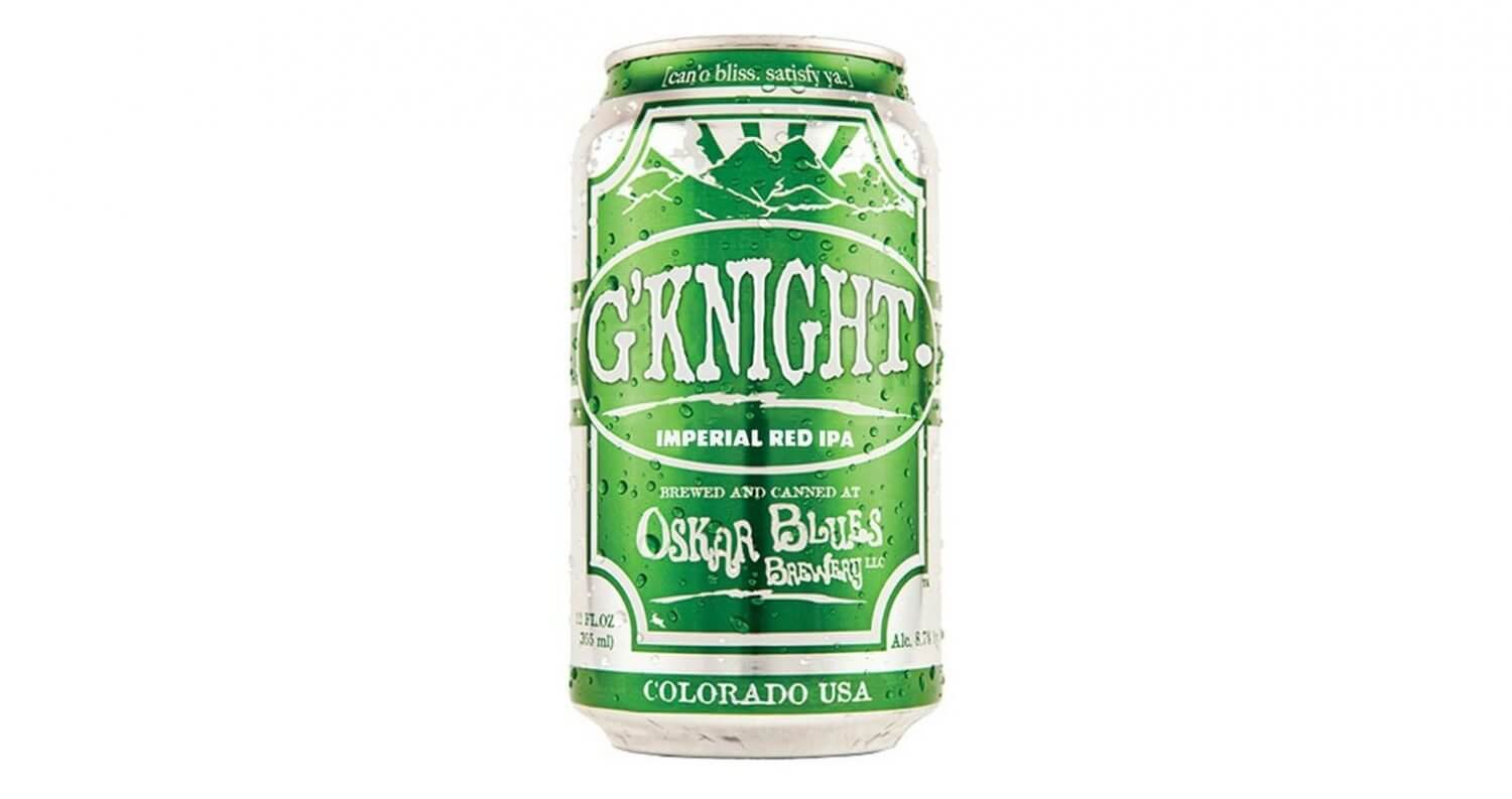 G'Knight Imperial Red IPA, featured image, can on white