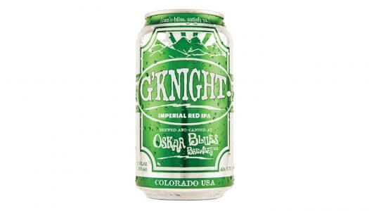 Oskar Blues Brewery Adjusts Pricing on G'Knight Imperial Red IPA