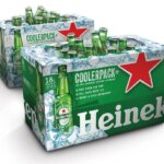 Heineken 18 Bottle CoolerPack cooler packaging on white, featured image