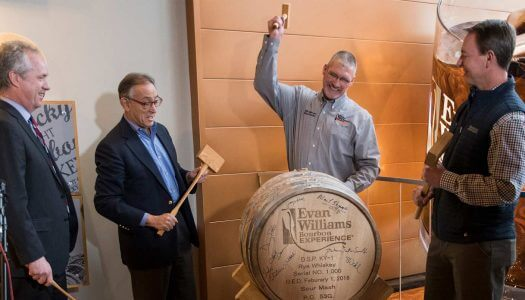 Evan Williams Bourbon Experience Reaches 1,000th Barrel Milestone