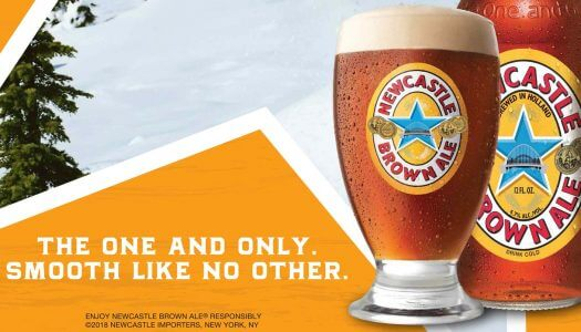 Newcastle Brown Ale Partners with Local Media to Open 2018 Ski Season