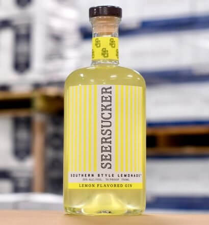 Seersucker Southern Style Gin, bottle, featured image
