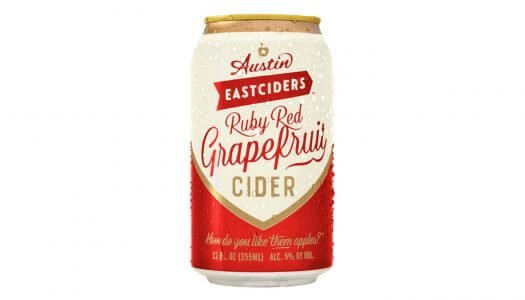 Austin Eastciders Launches Ruby Red Grapefruit