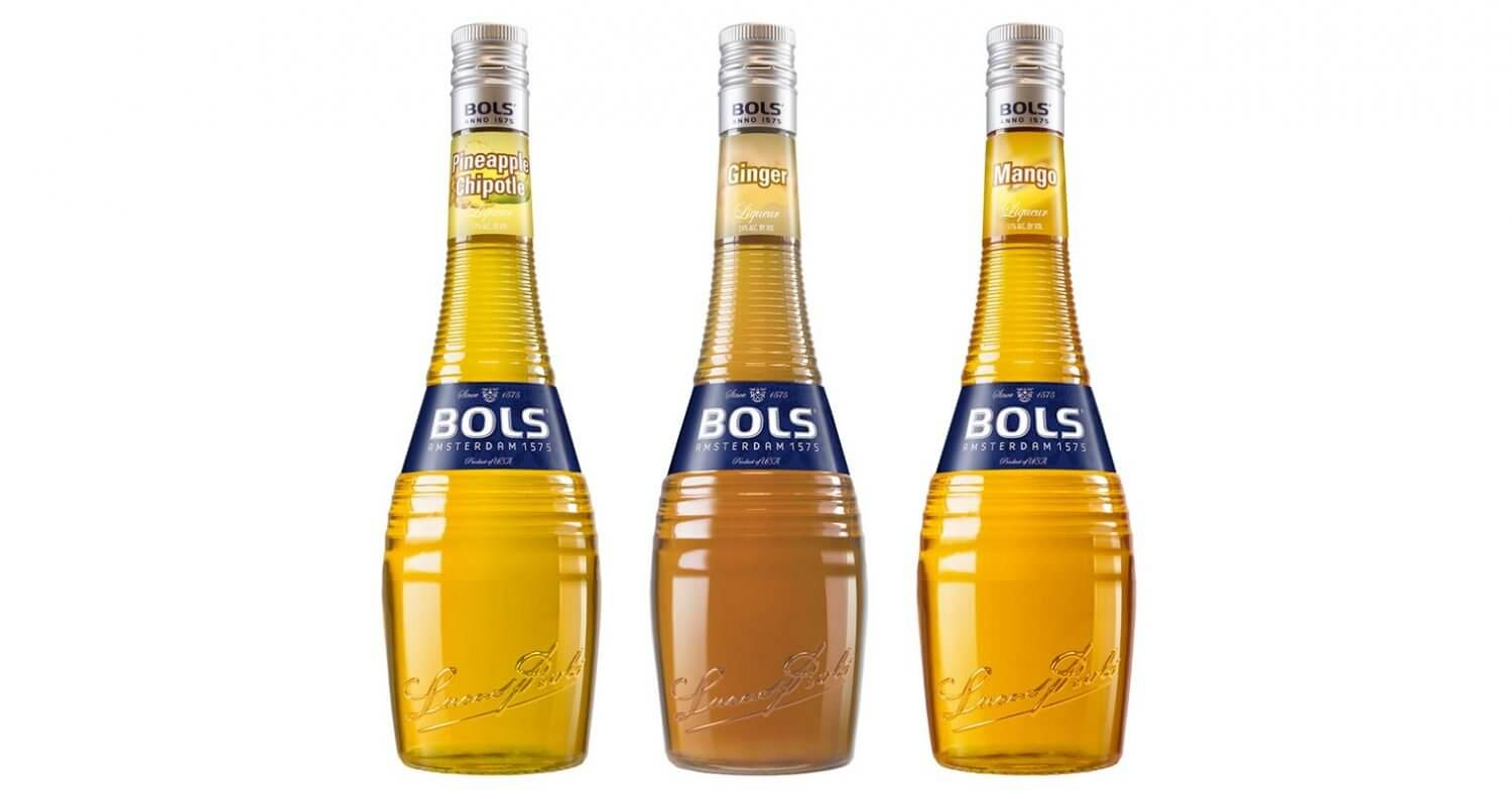 Bols New Flavors, bottles on white, featured image