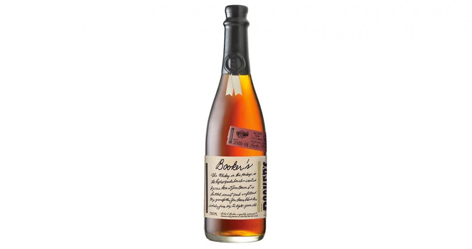 "Booker's ""Kathleen's Batch"", bottle on white, featured image"