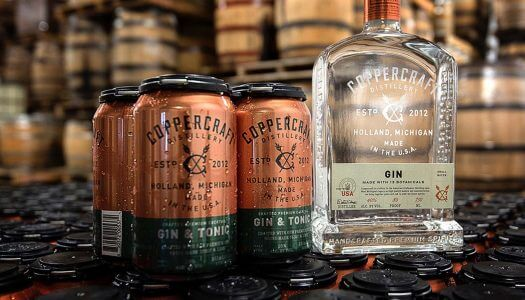 Coppercraft Distillery Launches Canned Gin & Tonic