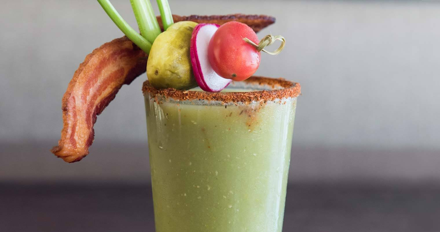 Green Bloody Mary, featured image