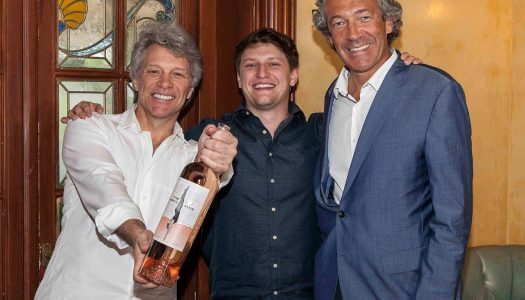 "Jon Bon Jovi Kicks Off Launch of ""Diving Into Hampton Water"" Rosé"