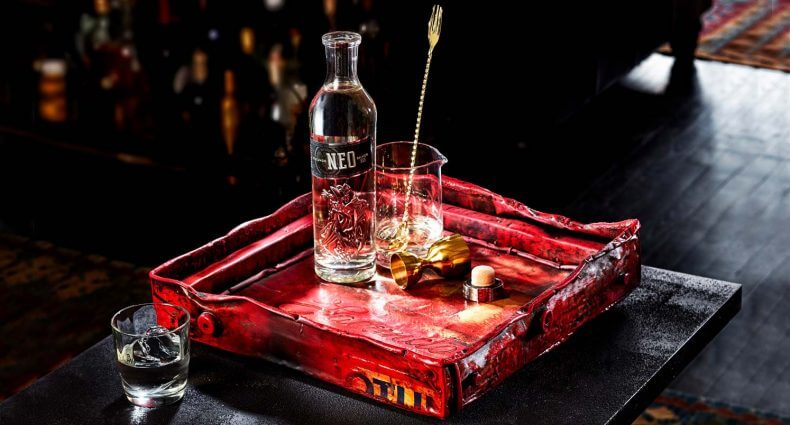 Luxury Bar Tray for FACUNDO Rum Collection , featured image