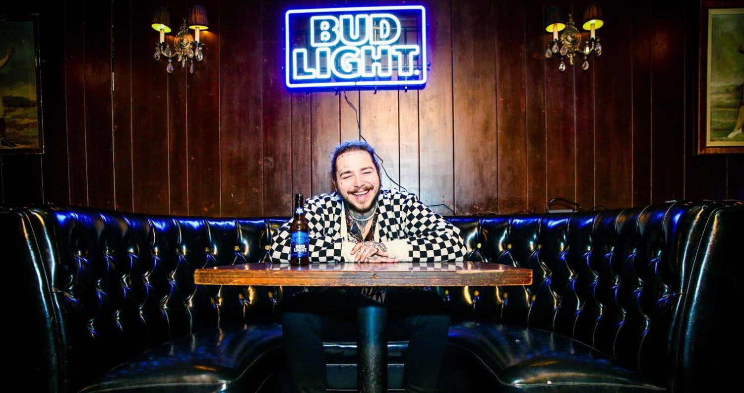Post Malone and bud light dive bar tour, featured image
