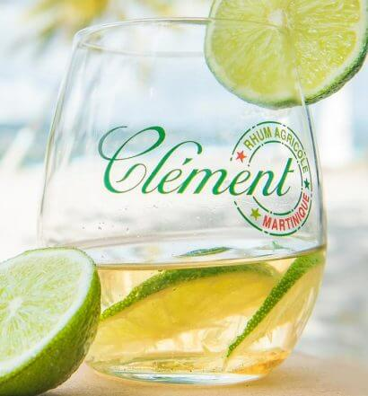 Rhum Clément, cocktail with garnish, featured image