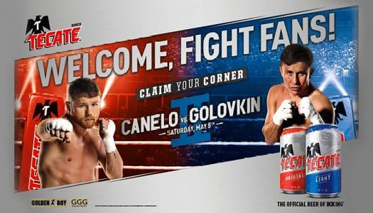 "Tecate Launches ""Claim Your Corner"" Boxing Promotion and Sweepstakes"