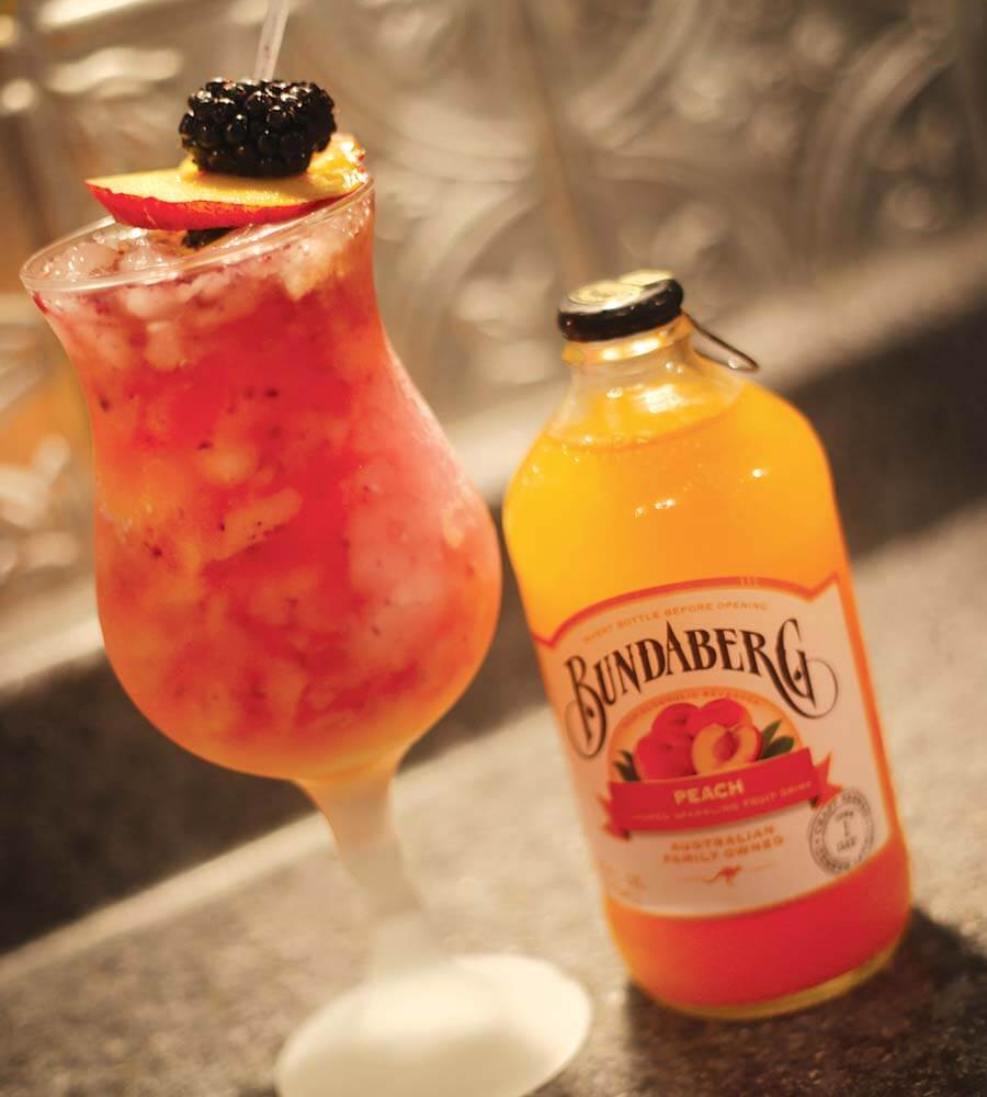 The Bundaberg Peach Sipper