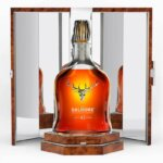 The Dalmore 45 Year Old, bottle and packaging on white back, featured image