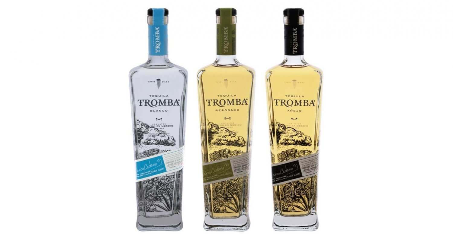 Tromba Tequila , bottle varieties on white, featured image